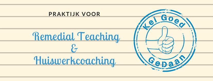 Kei Goed GeDaan Praktijk voor Remedial Teaching & (online) Huiswerkcoaching